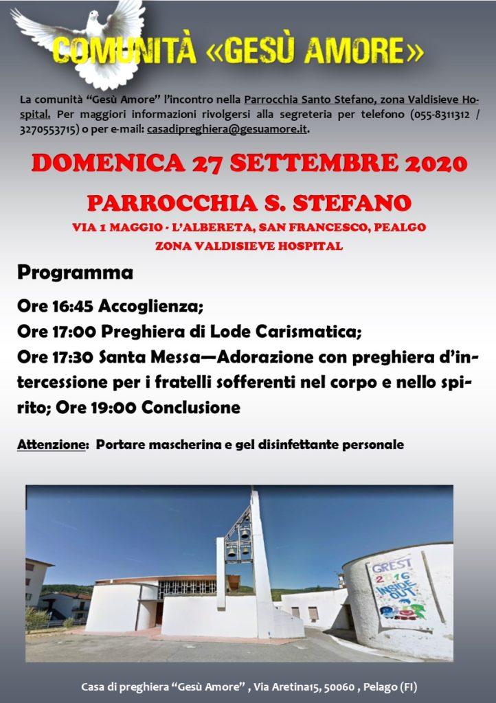programma settembre 27